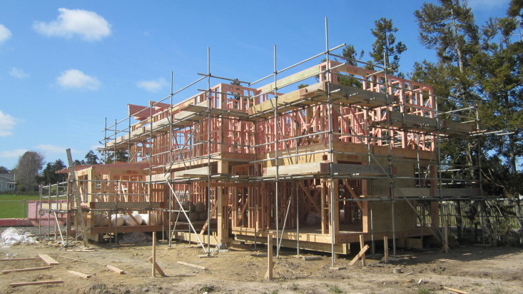 Scaffold for new builds.