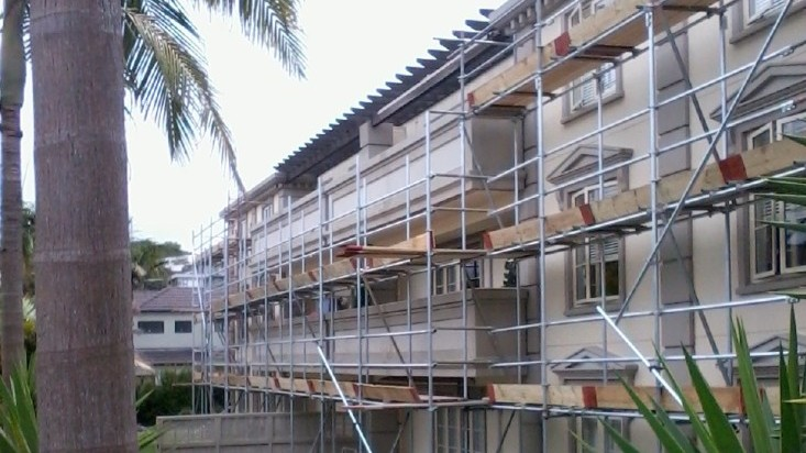 Scaffold to a Rest Home in Browns Bay.